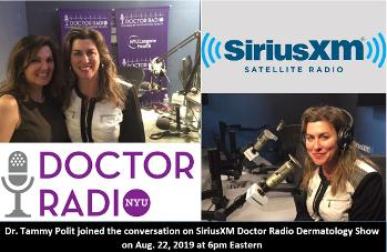 Dr. Tammy Polit and host Dr. Doris Day, Dermatology Show